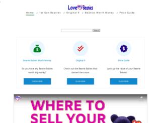 lovemybeanies.com screenshot