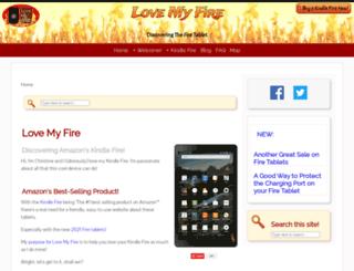 lovemyfire.com screenshot
