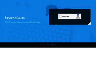 lovenails.eu screenshot