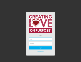 loveonpurpose.customerhub.net screenshot