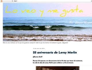 loveoymegusta.blogspot.com.es screenshot