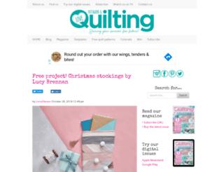 lovepatchworkandquilting.com screenshot