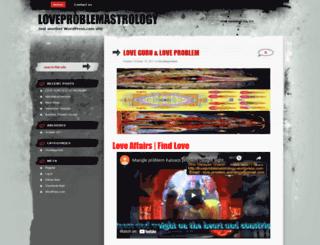 loveproblemastrology.wordpress.com screenshot