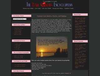 lovequote.com screenshot