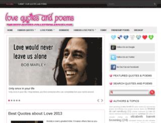 lovequotesandpoem.blogspot.in screenshot