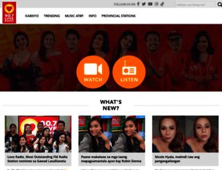 loveradio.com.ph screenshot