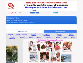 lovers-poems.com screenshot