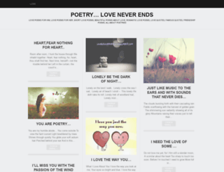 loverslovepoetry.wordpress.com screenshot
