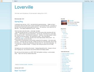 loverville.blogspot.com screenshot