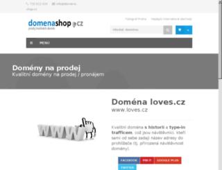 loves.cz screenshot