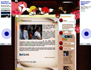 lovesaffection.blogspot.com screenshot