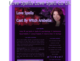 lovespellslovespell.co.uk screenshot