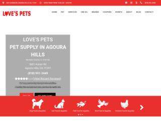 lovespets.net screenshot