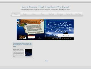 lovestoriesthattouchedmyheart.blogspot.com screenshot