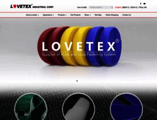 lovetex.com.tw screenshot