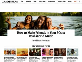 lovetoknow.com screenshot