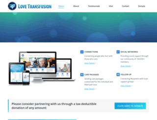 lovetransfusion.net screenshot