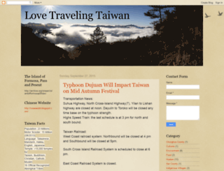 lovetravelingtaiwan.blogspot.sg screenshot
