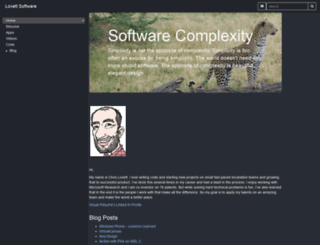 lovettsoftware.com screenshot