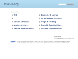 loveuk.org screenshot