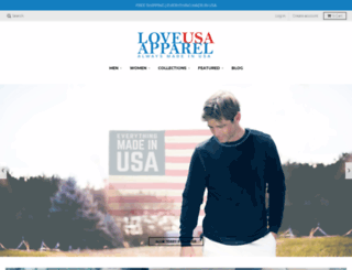 loveusaapparel.com screenshot