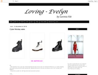 loving-evelyn.blogspot.ro screenshot