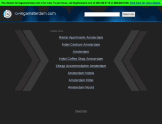 lovingamsterdam.com screenshot