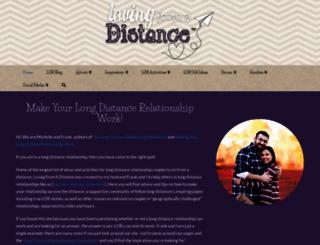 lovingfromadistance.com screenshot