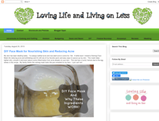 lovinglifeandlivingonless.blogspot.com screenshot