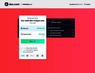 low-carb-diet-recipes.com screenshot