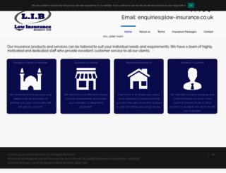 low-insurance.co.uk screenshot