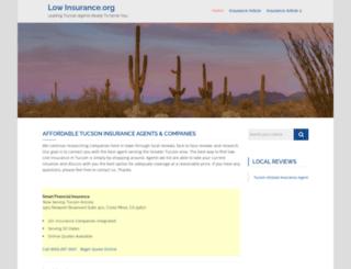 low-insurance.org screenshot