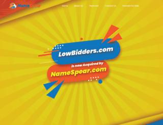 lowbidders.com screenshot