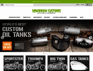 lowbrowcustoms.com screenshot
