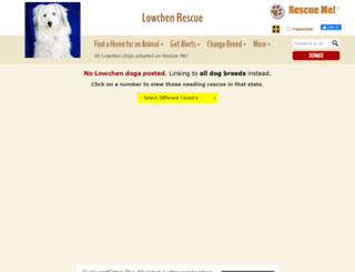 lowchen.rescueme.org screenshot