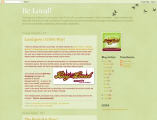 lowcountrylocalfirstblog.blogspot.com screenshot