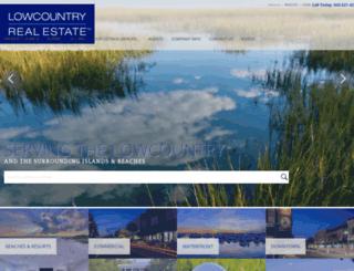 lowcountryproperty.com screenshot
