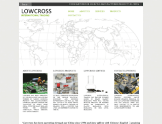 lowcross.com screenshot