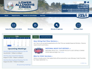 lowerallowayscreek-nj.gov screenshot