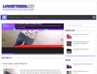 lowerthirds.net screenshot