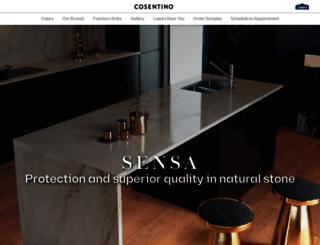 lowes.sensagranite.com screenshot