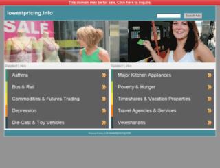 lowestpricing.info screenshot