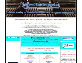 lowhostingrates.com screenshot
