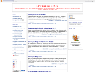 lowongan-kerja-resume.blogspot.com screenshot