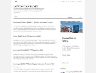 lowongan-kerjaan-indonesia.blogspot.com screenshot