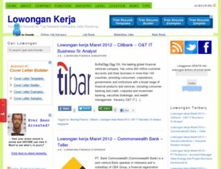 lowongan-kerjaan.net screenshot