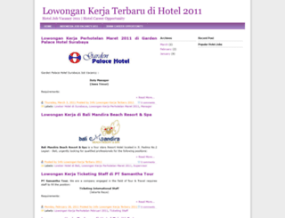 lowongankerja-perhotelan.blogspot.com screenshot