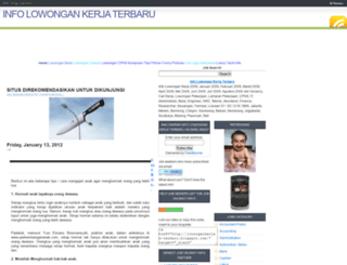 lowongankerjas-terbaru.blogspot.com screenshot