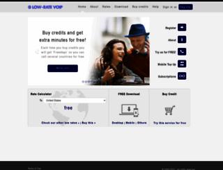 lowratevoip.com screenshot