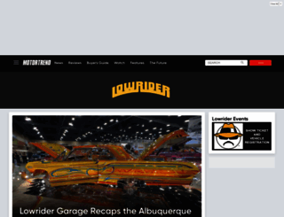 lowrider.com screenshot